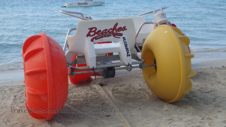 Negril water bikes, Jamaica