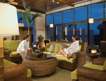 Relaxation Room, Mayakoba's Willow Stream Spa. Photo credit: Mayakoba Resort, facebook page