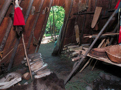historical Fort William, Thunder Bay, fur trade post