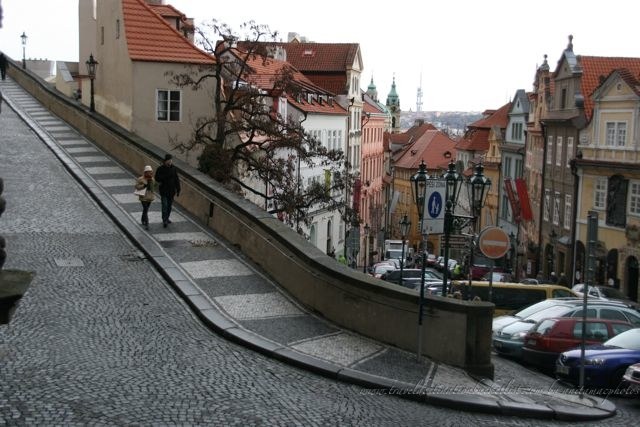 cobbled streets of Prague