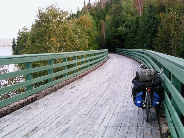 cycling across Canada