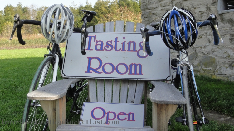 cycle touring in Prince Edward County