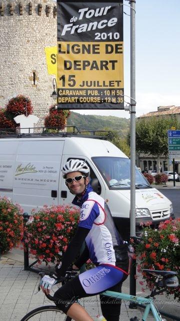ligne de depart, cycling