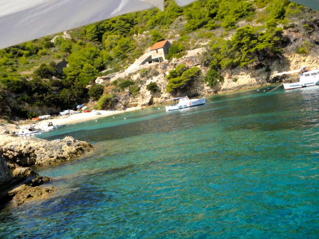sailing the islands of Croatia
