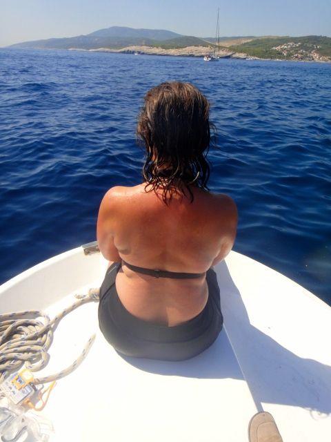 Sailing in Vis