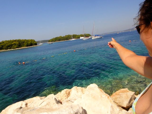 yachting and swimming in Croatia