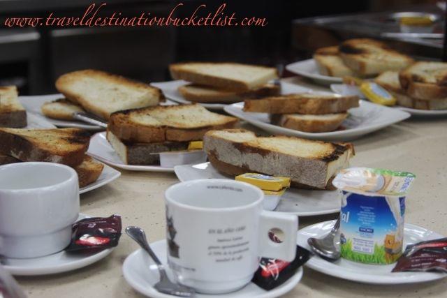 pilgrim breakfast, desayuno