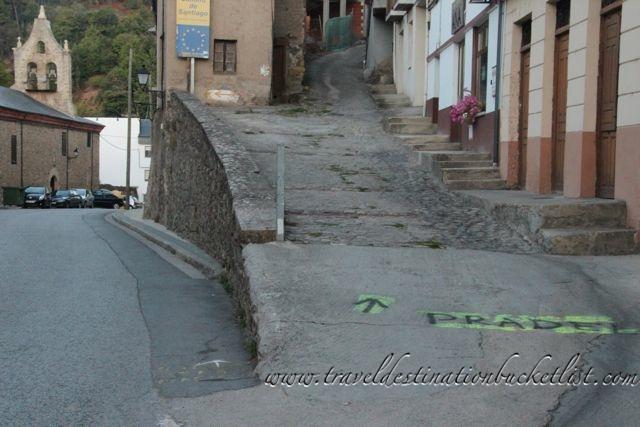 road to Pradela