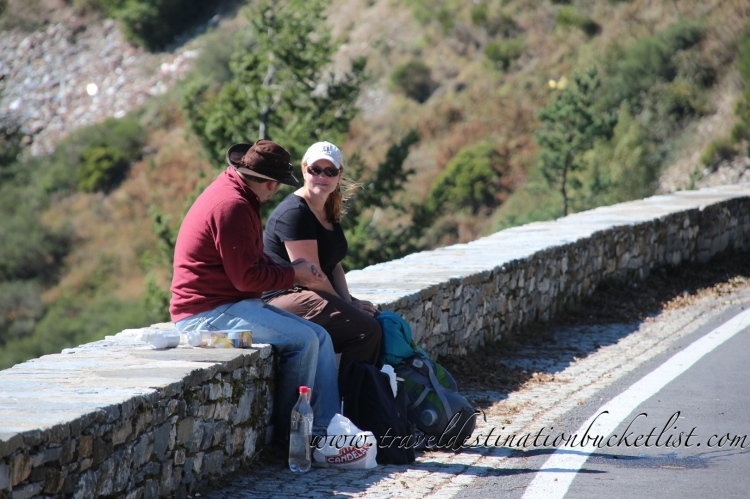 walking through Galicia