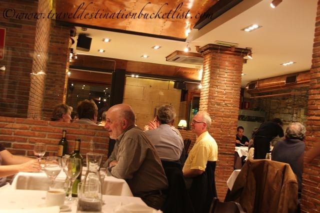 where to eat in San Sebastian