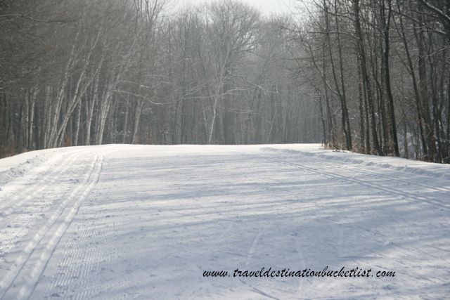 skiing in Gatineau Park