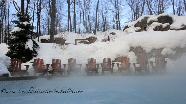 winter spa retreat