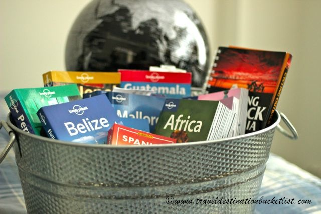 Bucket list of inspiration, lonely planet