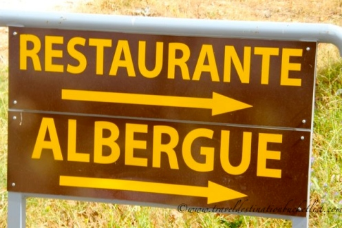 directions on the Camino de Santiago