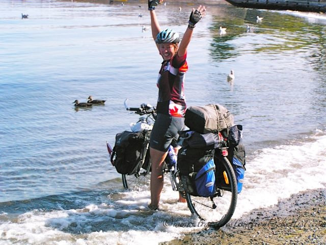 cycle touring in Canada