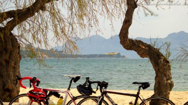 orbea bikes at the beach