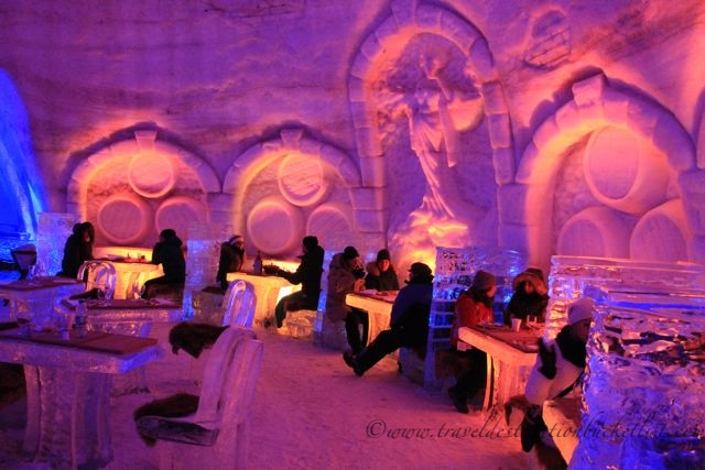 fine dining in the Snow Village