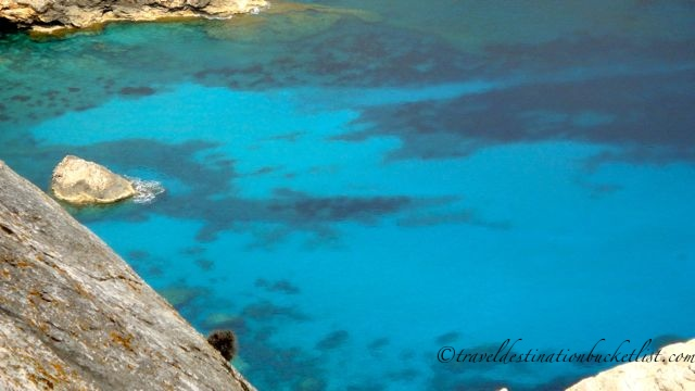 Sparkling blue waters along Mallorca's coast