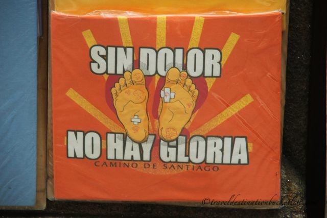 sin dolor, no hay gloria