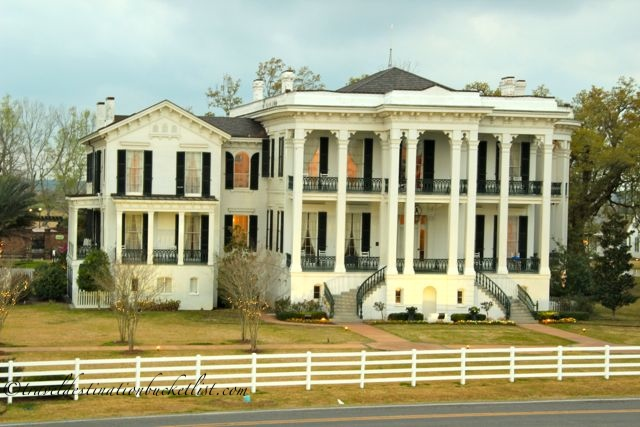 Plantation tours in Louisiana