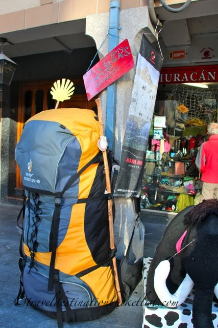 Less is more - packing your bags for the Camino de Santiago