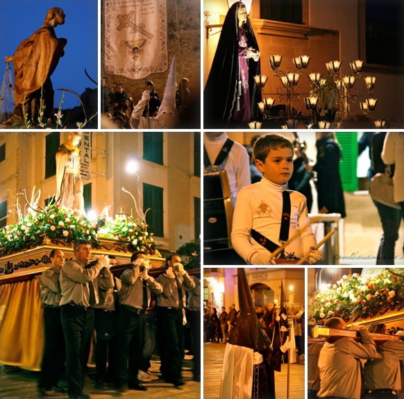 Good Friday procession - Semana Santa, Alcudia, Mallorca