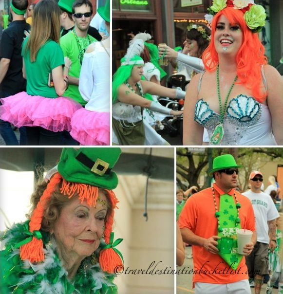 Colourful St Patrick's Day, New Orleans