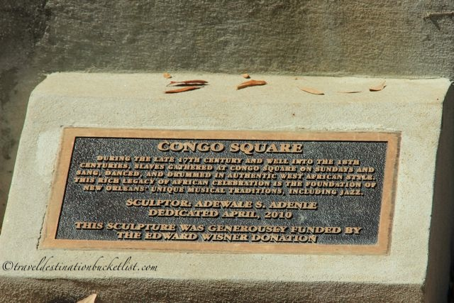 Congo Square - the home of New Orleans Jazz