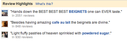 Cafe du Monde reviews