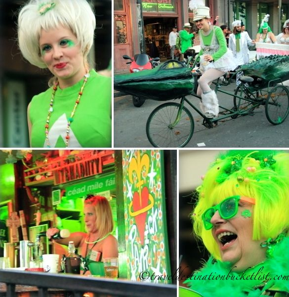 St Patrick's Day parades, New Orleans