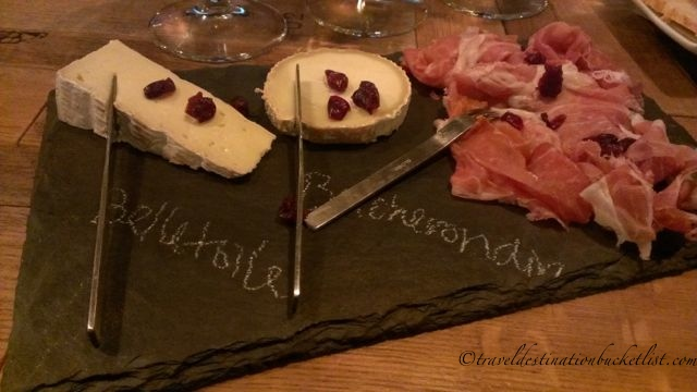 Artisan Cheeses at Flight Wine Bar, Rochester