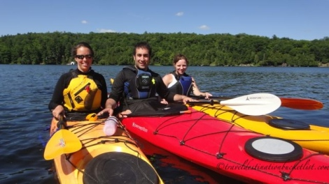 Monday Morning Series: Kayak Certification at Meech Lake