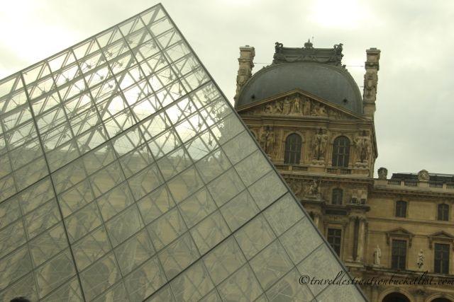 Paris - outside the Louvre