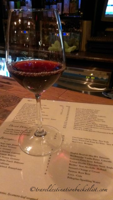 Port at Flight Wine Bar, Rochester