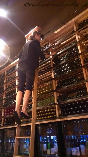 Sommelier selected fights of wine at Flight Wine Bar