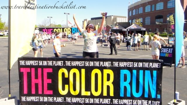 The Color Run - Finish