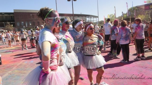 Rochester Color Run - tuttus at the after party!