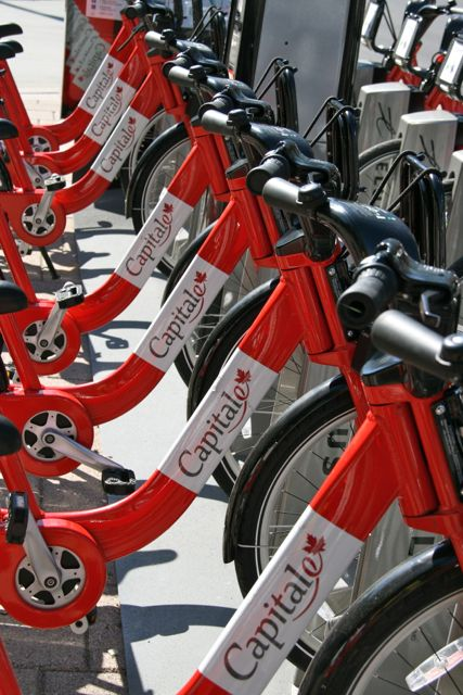 Rent a BIXI Bike in Ottawa