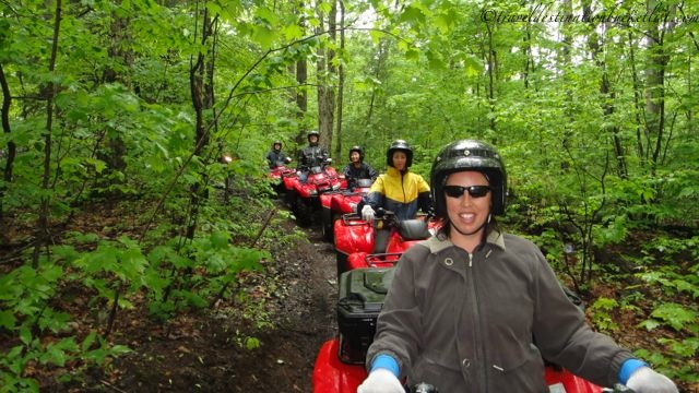 Out in the bush with Bear Claw Tours ATV adventures
