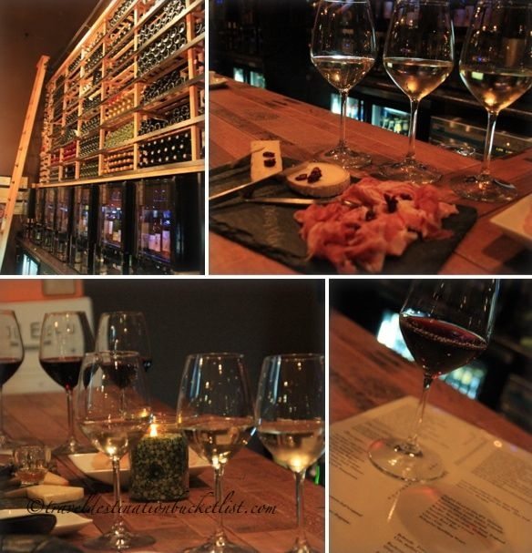 Flight Wine Bar photo montage