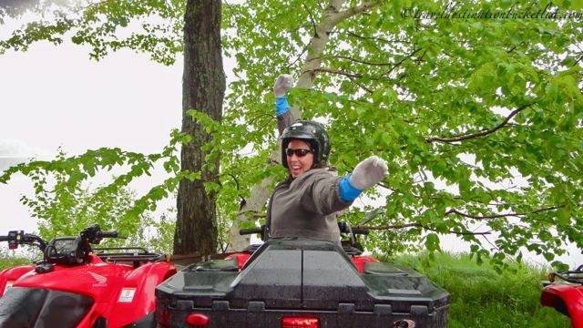ATV adventures near Parry Sound with Bear Claw Tours