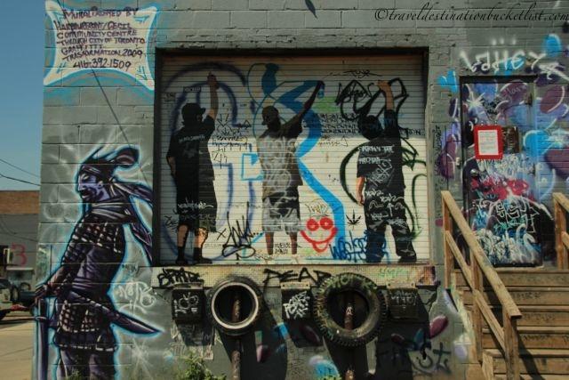 Graffiti Art in Toronto with Toronto Tour Guy