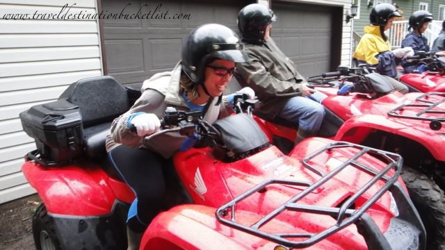 ATV adventures with Bear Claw Tours