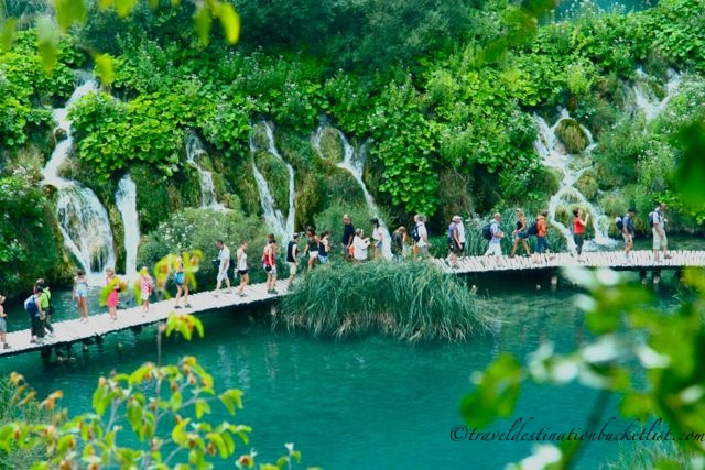 The natural beauty of Plitvice Lakes National Park, Croatia