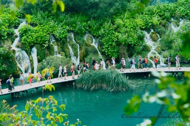 The natural beauty of Plitvice Lakes National Park, Croatia