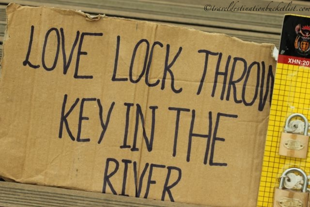 what to do with your love lock