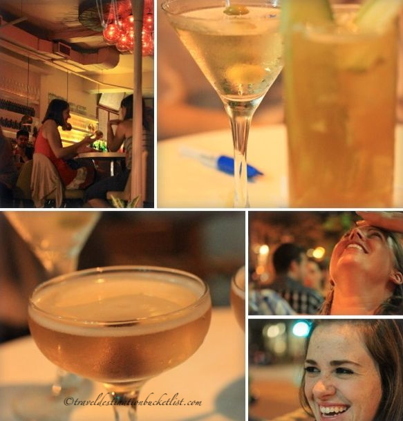 Baldwin Barmacie cocktails