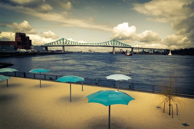Summer in Montreal - the urban beach