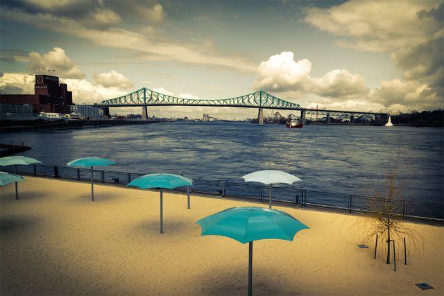 Summer in Montreal - the urban beach