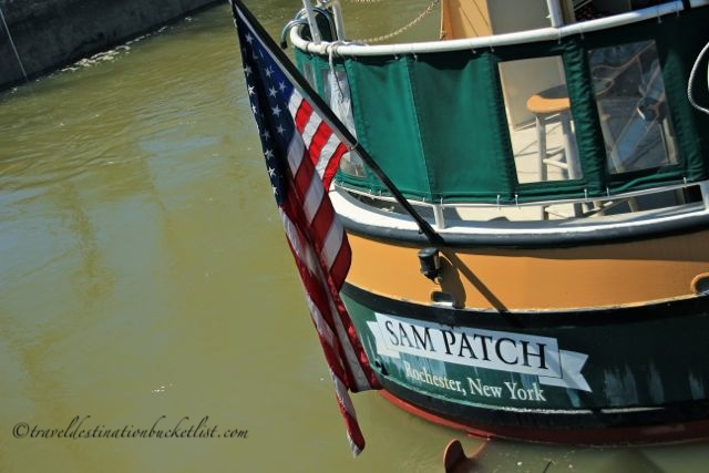 Missing the boat - the Sam Patch Replica Pocket Boat in Pittsford NY